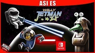 Asi es Willy Jetman: astromonkey´s Revenge para Steam/PS4 y Nintendo Switch (versión jugada)