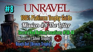 Unravel Platinum Trophy Guide Mission #8 The Letter + Obsessive Silver Trophy