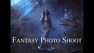 "Behind the Scenes on ""The Elven Princess"" - Fantasy Photo Shoot"