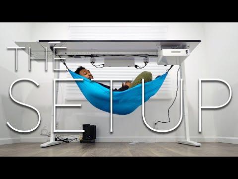 The BEST Standing Desk You'll EVER Buy! Uplift Desk V2 - The Setup Episode 2 | runJDrun