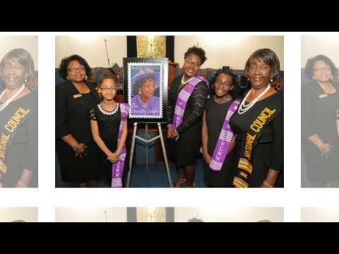 Dorothy Height Forever Stamp | NCNW St. Petersburg, FL | Pierce Brunson Photography
