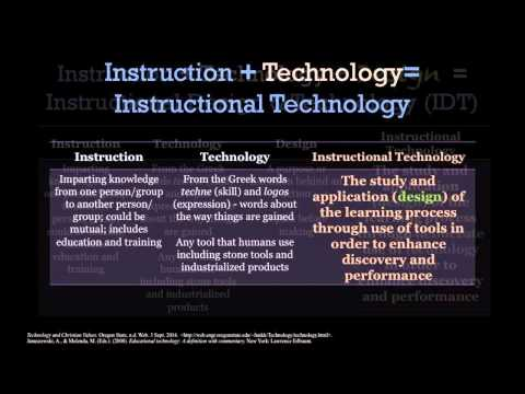 Instructional Technology Definition