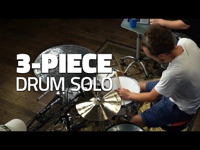 3-Piece Drum Solo - Drumeo