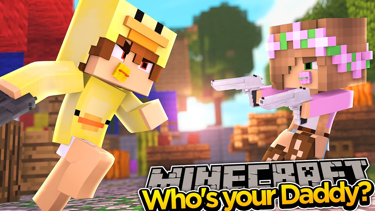 Minecraft Who's Your Daddy? - BABY DUCK LOVES HIS FLAMETHROWER!
