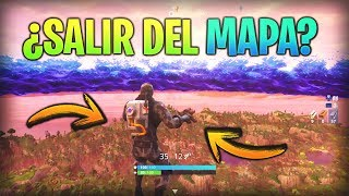Trick TO LEAVE THE MAP à FORTNITE ? Bataille de Glitch/Bug Fortnite Royale