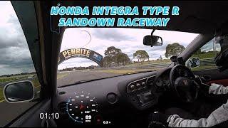 Honda Integra Type R Sandown Raceway Fast Lap - AutoInstruct