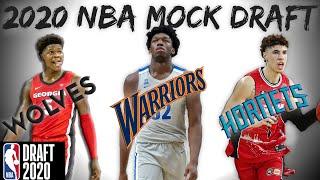 2020 NBA Mock Draft | Post Draft Lottery!