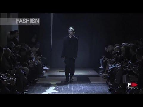YOHJI YAMAMOTO  Full Show Autumn Winter 2015 2016 Paris Menswear by Fashion Channel
