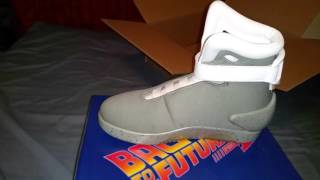 back to the future 2 light up shoe