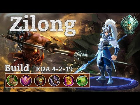 Mobile Legends: Zilong off tank for the Epic Rank UP!