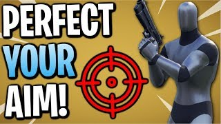 Fortnite: The BEST Aim Course For Pc Console & Mobile | Perfect Your Aim!