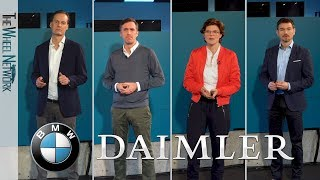 BMW Group and Daimler AG Joint Mobility Company – Workshops