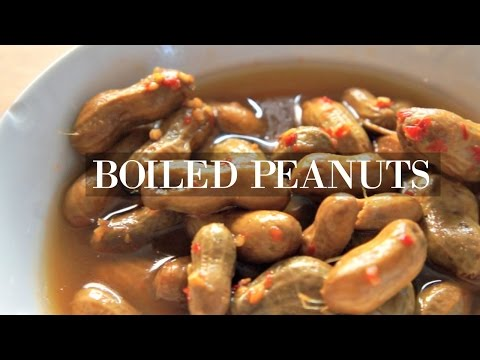 Boiled Peanuts TASTE TEST - Whatcha Eating?