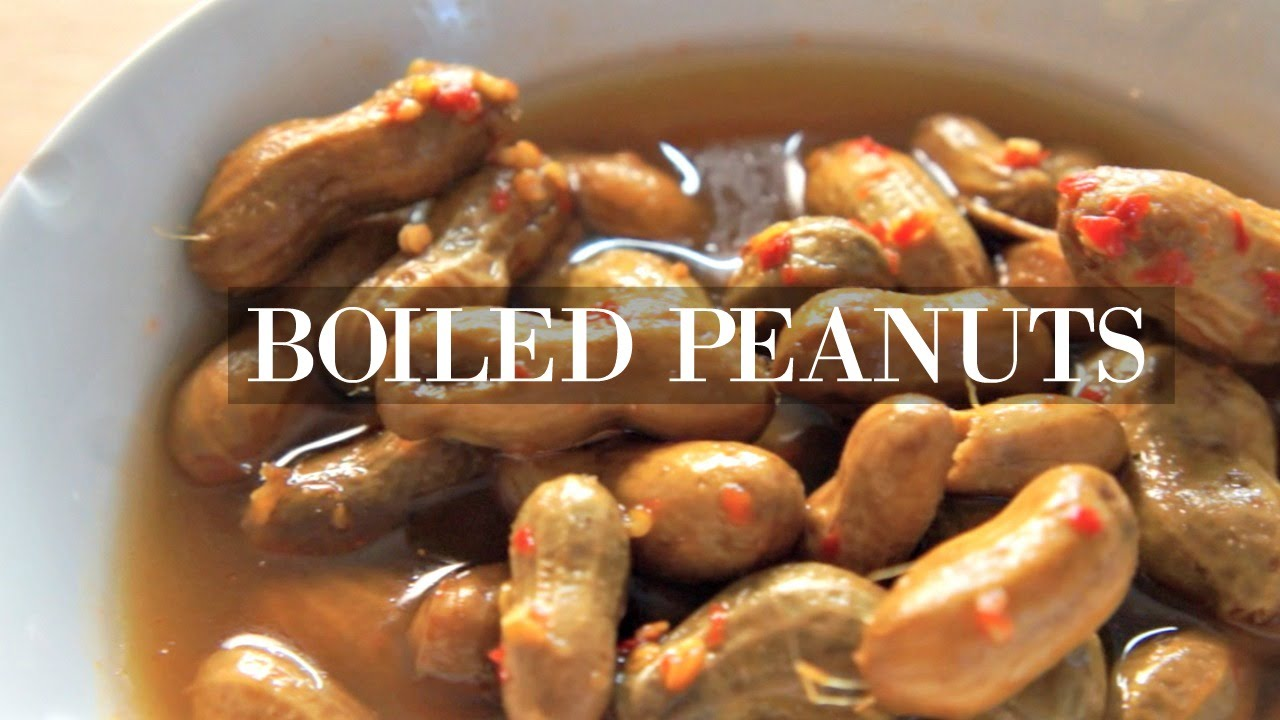 can boiled peanut be diet food