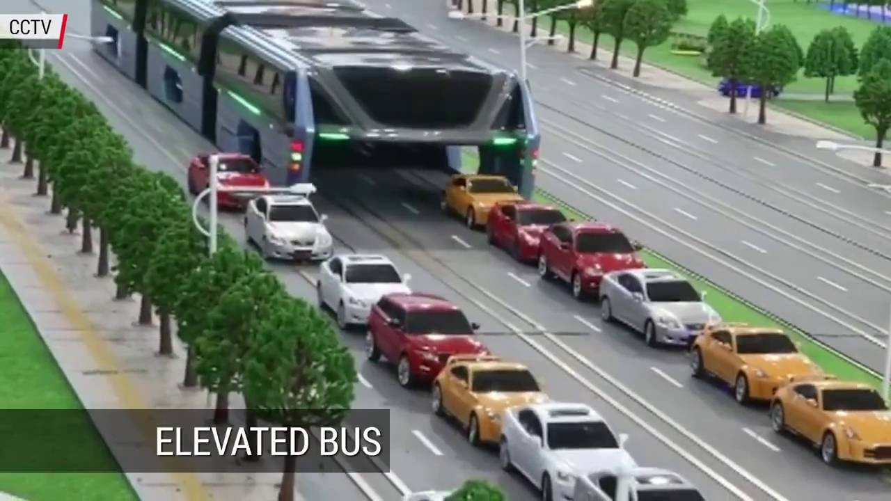 New chinese bus concept