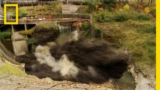 Spectacular Time Lapse Dam Removal Video  National Geographic