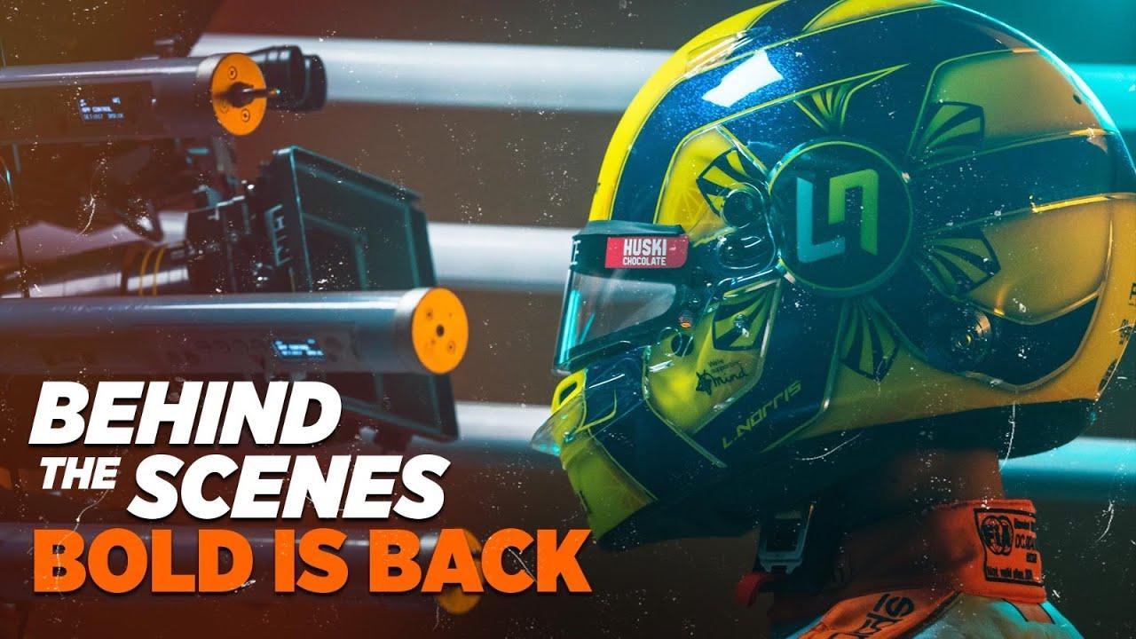 Behind the Scenes of the Gulf X McLaren Shoot #BoldIsBack