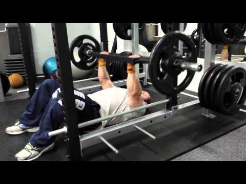 Swiss bar floor press