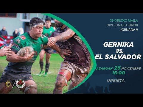 Gernika Rugby Taldea  vs Silverstorm El Salvador (Temporada 2017 - 2018)