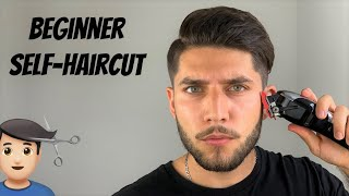 The Easiest Beginner Self-Haircut Tut๐rial 2020 | How To Cut Your Own Hair Without A Lever
