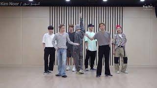رقص BTS على اغنية Dynamite | بدون موسيقى