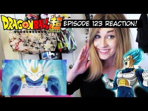 VEGETA BEYOND SSJ BLUE!! Dragon Ball Super Episode 123 REACTION!