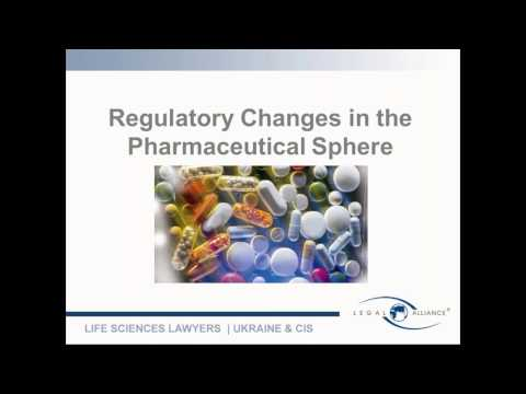 Webinar: Legal Aspects of Doing Pharma Business in Ukraine: Review of 2016