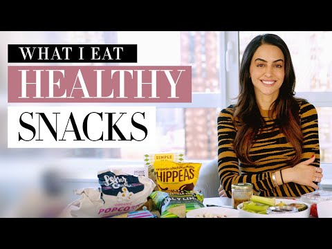 What I Eat In A Day - Healthy Snacks | Dr Mona Vand