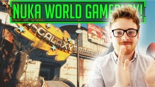 Fallout 4 - Official NUKA WORLD Gameplay Trailer! FACECAM REACTION!