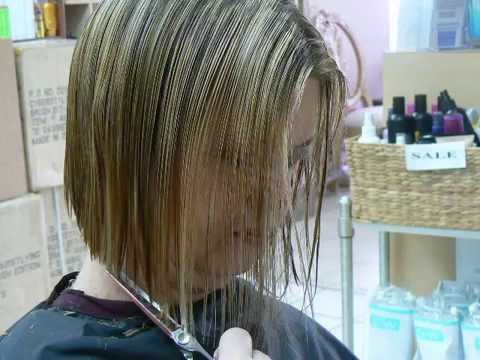 Modern Flip Swing Bob Haircut Youtube