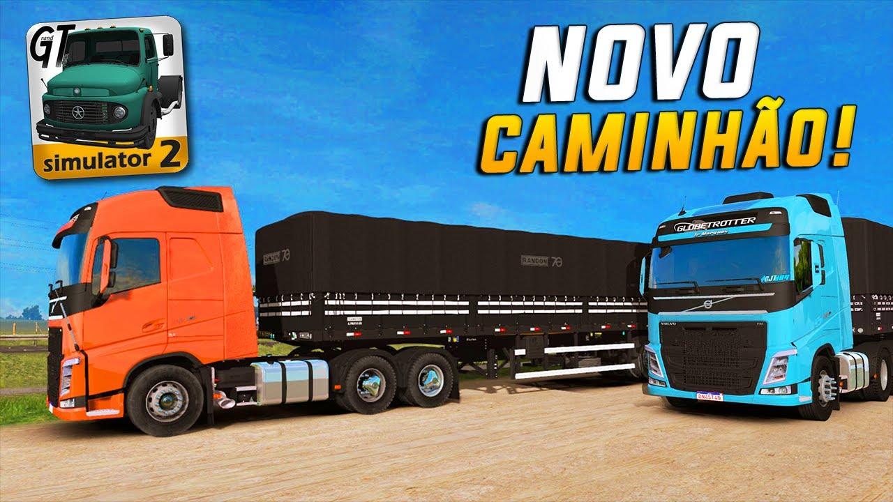 ATUALIZAÇÃO com VOLVO FH no Grand Truck Simulator 2 - Novos Caminhões Confirmados pro Jogo!!
