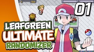 "Pokémon Leaf Green Ultimate Randomizer Nuzlocke - Ep.1 ""Choose Our Starter!!"""