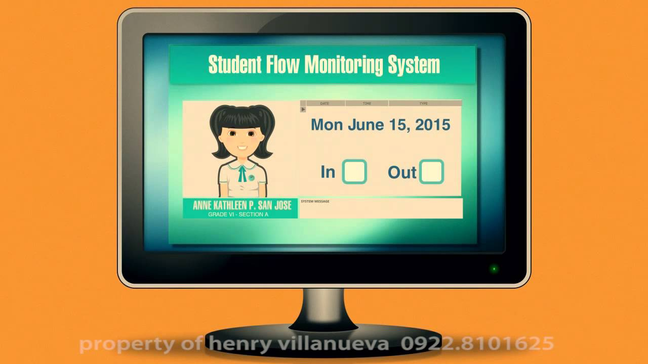 student monitoring system via sms