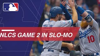 NLCS Gm2: Watch Slo-mo footage of Game 2 of the NLCS
