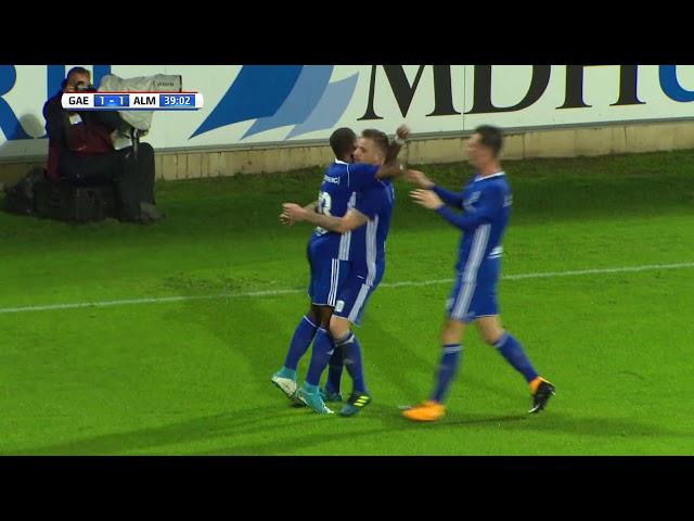 Samenvatting: Go Ahead Eagles - Almere City FC (2-1)
