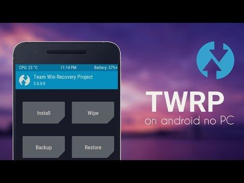Install TWRP Recovery on Android without PC [ How to / Universal method ]