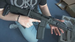 (Airsoft) Unboxing the GHK G5 - KhanSeb