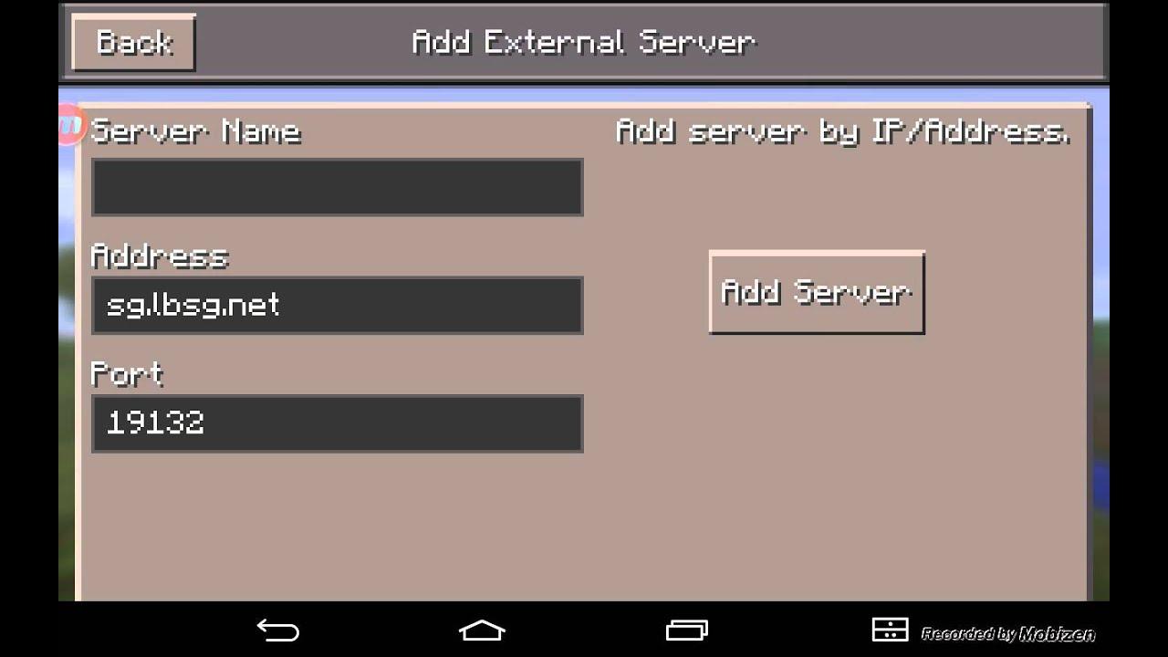 Смотреть сервера на майнкрафт пе 0.13.1 на голодные игры