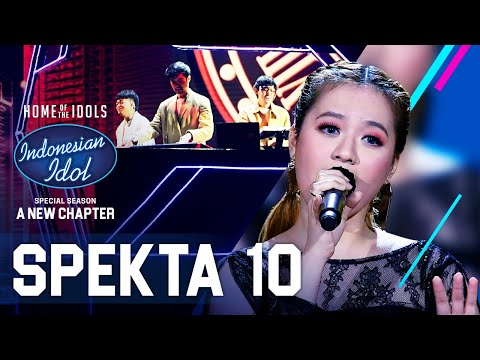 ANGGI X WEIRD GENIUS - TERLALU CINTA (Rossa) - SPEKTA SHOW TOP 4 - Indonesian Idol 2021
