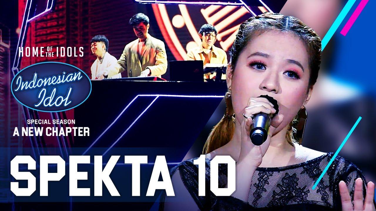 Download ANGGI X WEIRD GENIUS - TERLALU CINTA (Rossa) - SPEKTA SHOW TOP 4 - Indonesian Idol 2021