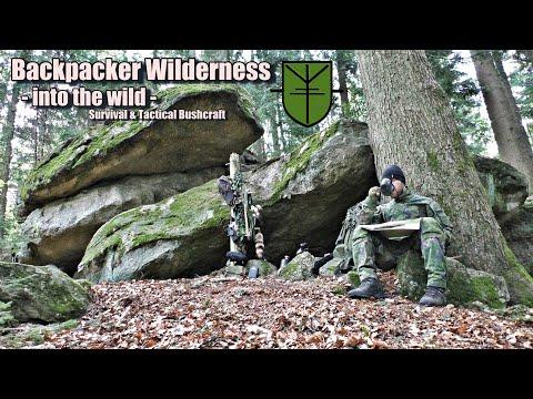 Backpacker Wilderness  - Streifzug durch die Wildnis -  Survival & Tactical Bushcraft