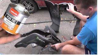 Ремонт пластика NOVOL PLUS 710 - полный урок по ремонту