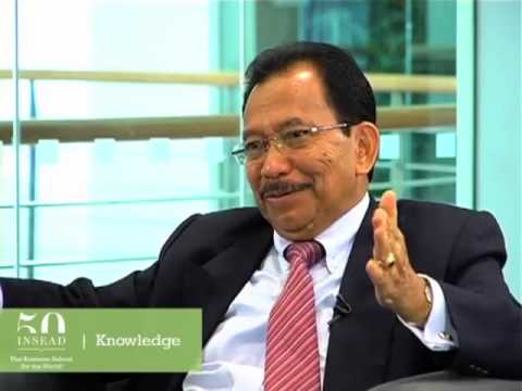 Former Indonesian state minister Tanri Abeng on the Indonesian economy and government