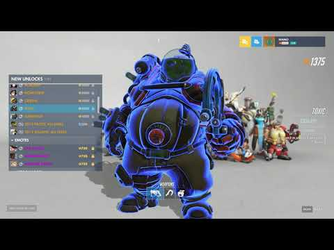 Overwatch Anniversary 2019 - All The New Cosmetic Items! (Skins & More!)