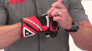Scorpion ExoWear Guardian Gauntlet Leather Glove Review from SportbikeTrackGear.com