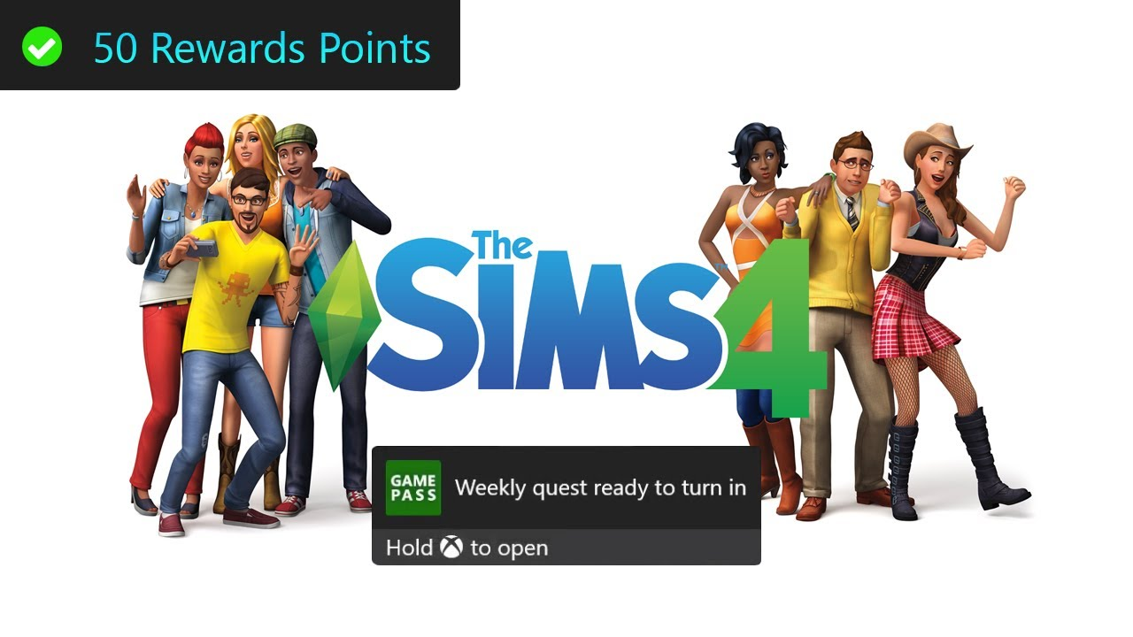 The Sims 4 Weekly Xbox Game Pass Quest Guide - Pass Out 1 Time