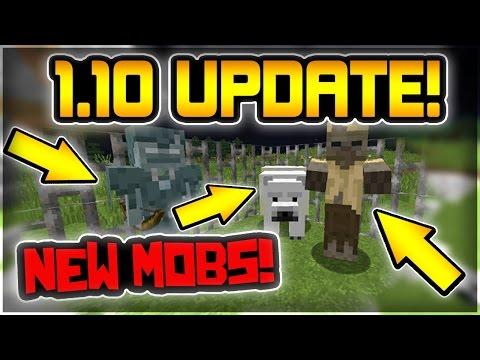 Minecraft 1.10 Snapshot | NEW MOBS UPDATE!!