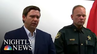 Suspected Hostage-Taking Gunman In Custody After Opening Fire On Florida Bank, | NBC Nightly News