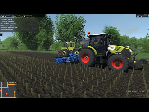Cattle and Crops Gameplay: Mission #1 Cultivating on our new development map