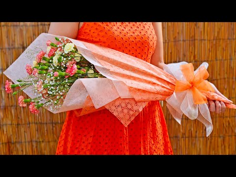 Flower Bouquet Gift Wring